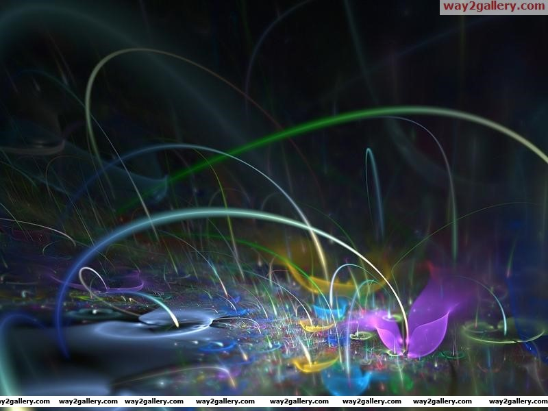 3d color explosions