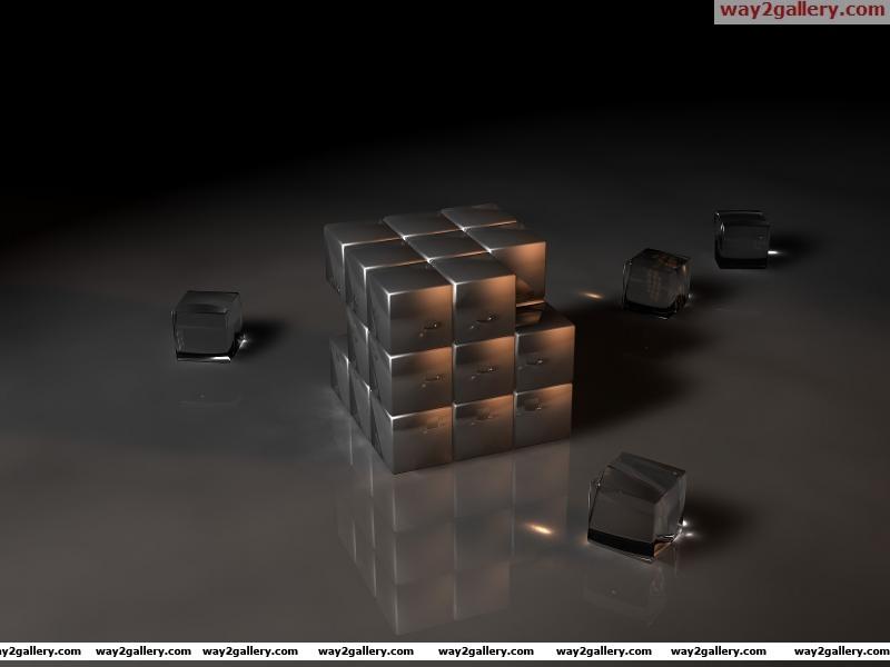 Rubiks cube3d