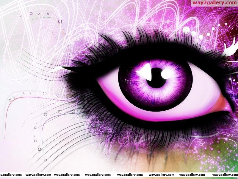 Eye creativity background