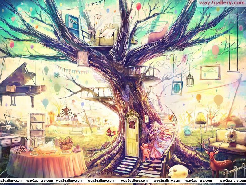Tree abstract wtf