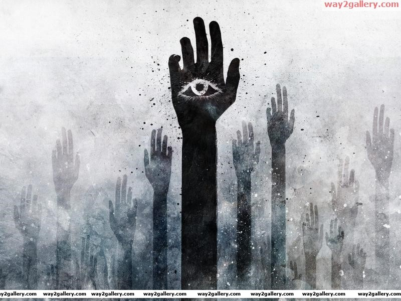 Wallpaper abstraction abstraction hands eyes eye texture spot drawing