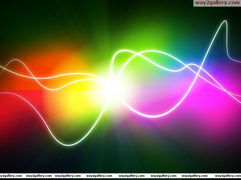 Wallpaper color point line