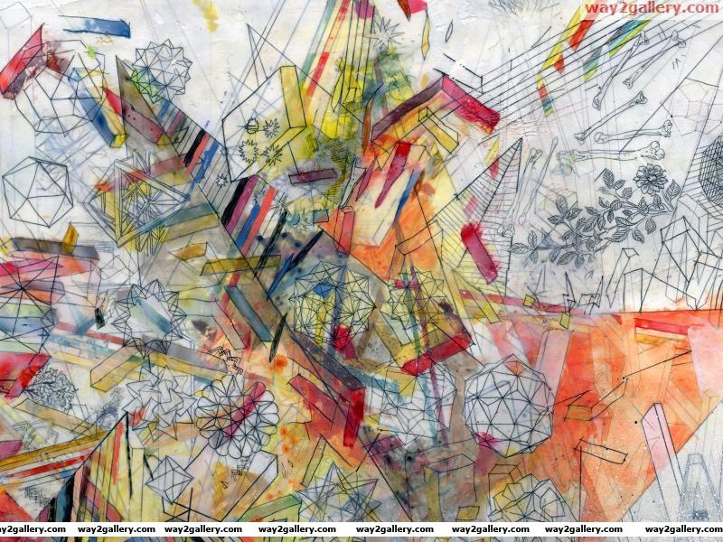 Wallpaper colors drawings lines