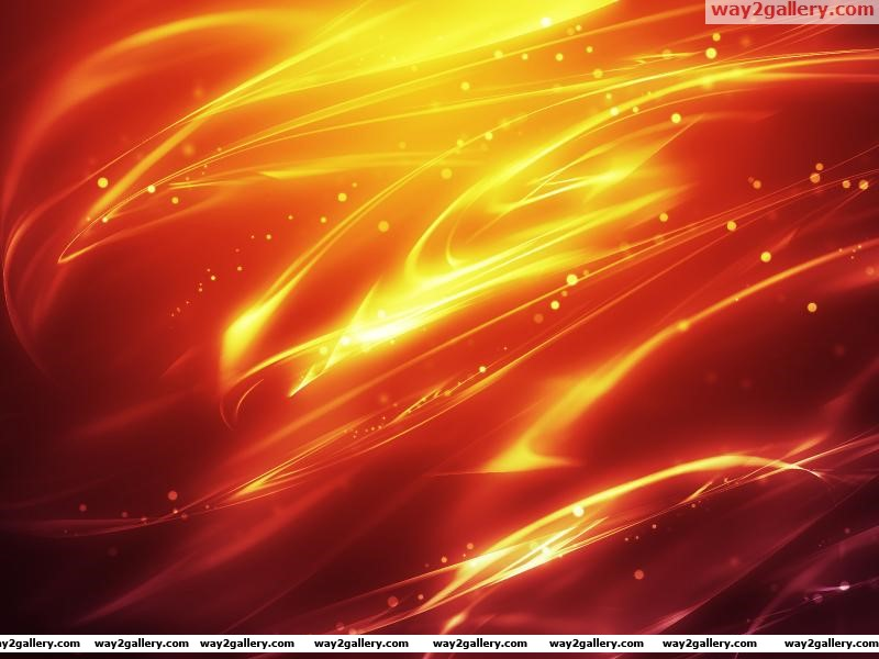 Wallpaper flame red orange yellow warm