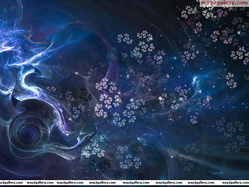 Wallpaper fractal patterns fractals curves texture flowers glow