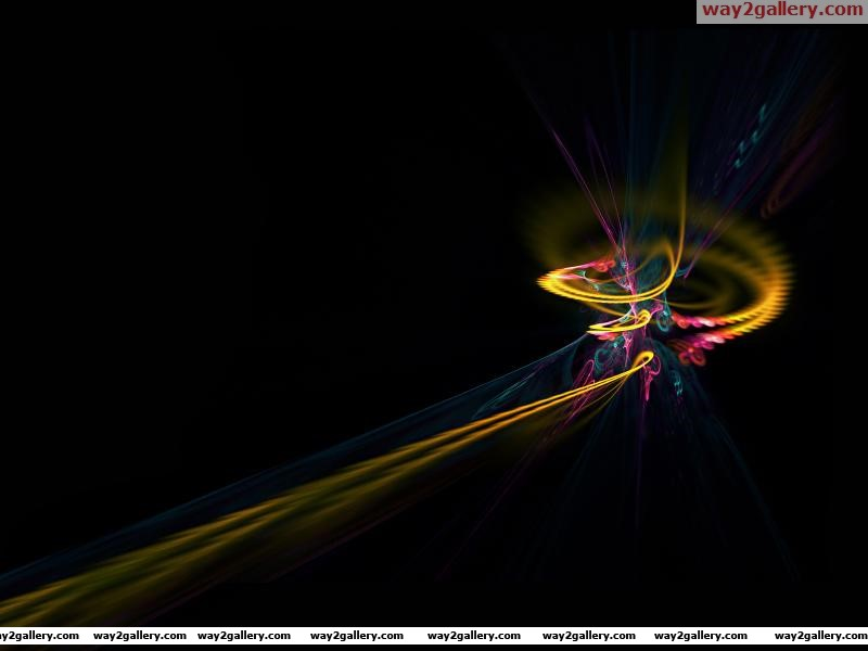 Wallpaper fractal patterns lines curves interweaving