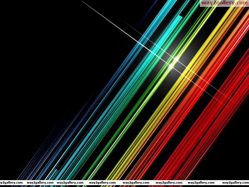 Wallpaper lines highlight color