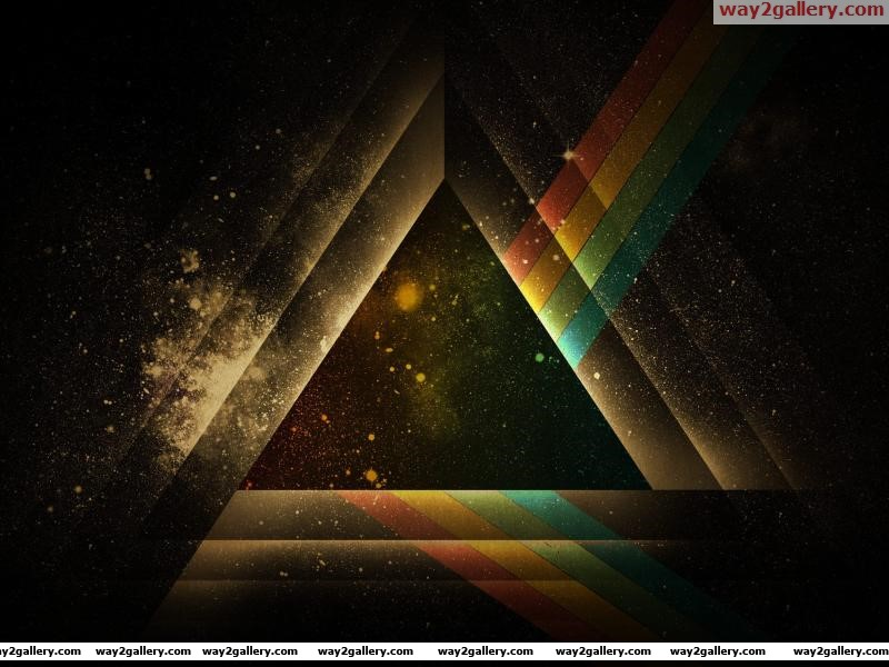 Abstraction black white triangle shape geometry graphic background