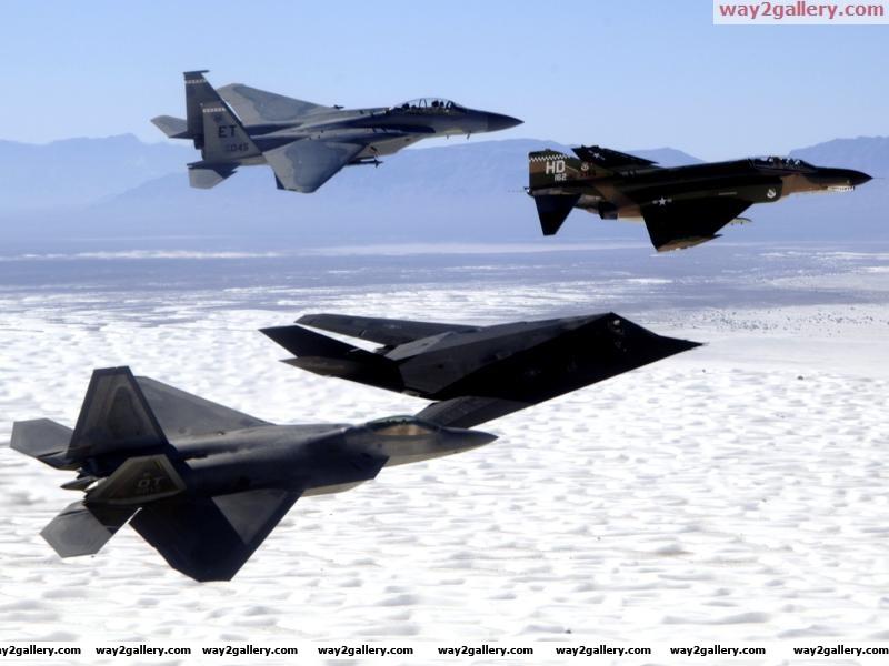 F 15 f 4 f 117 f 22aircraft