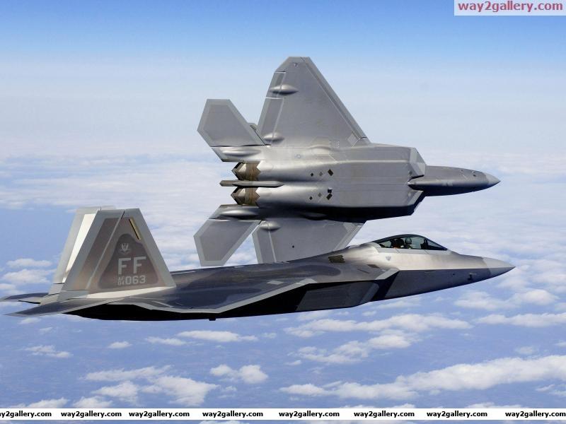 F 22a raptor stealth fighter jets