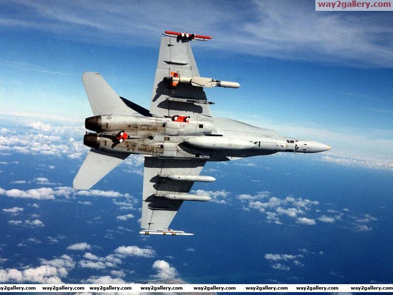 Fa 18 aircraft