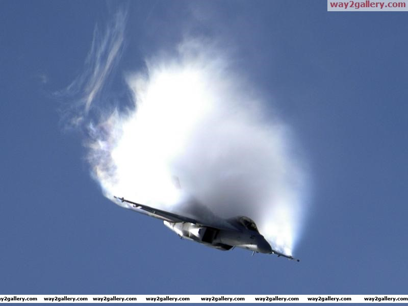 Fa 18f vapor over wings aircraft