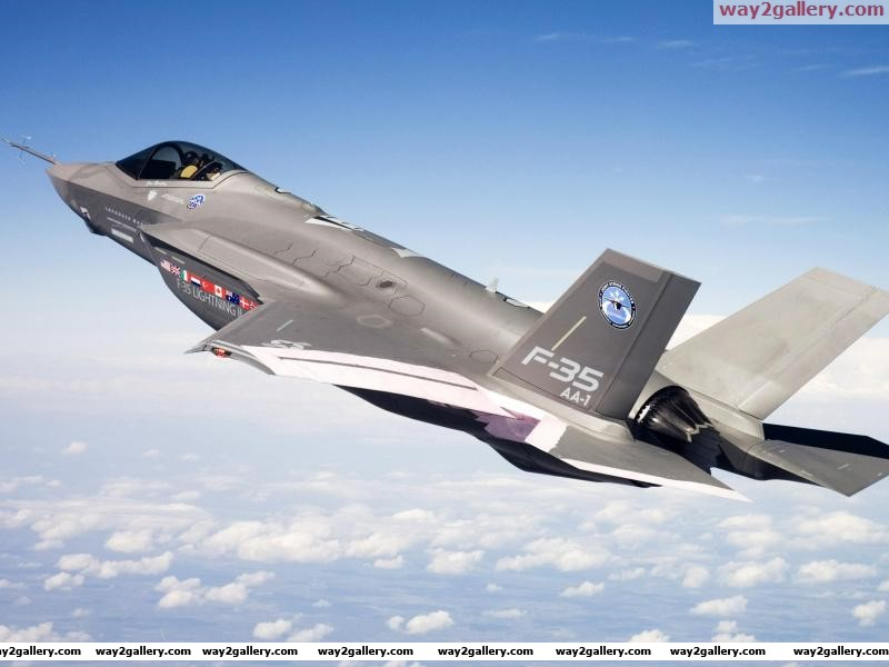 Fighter f 35aircraft