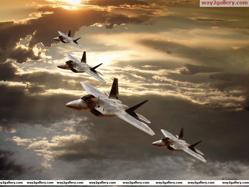Us air force f 22 raptorsaircraft