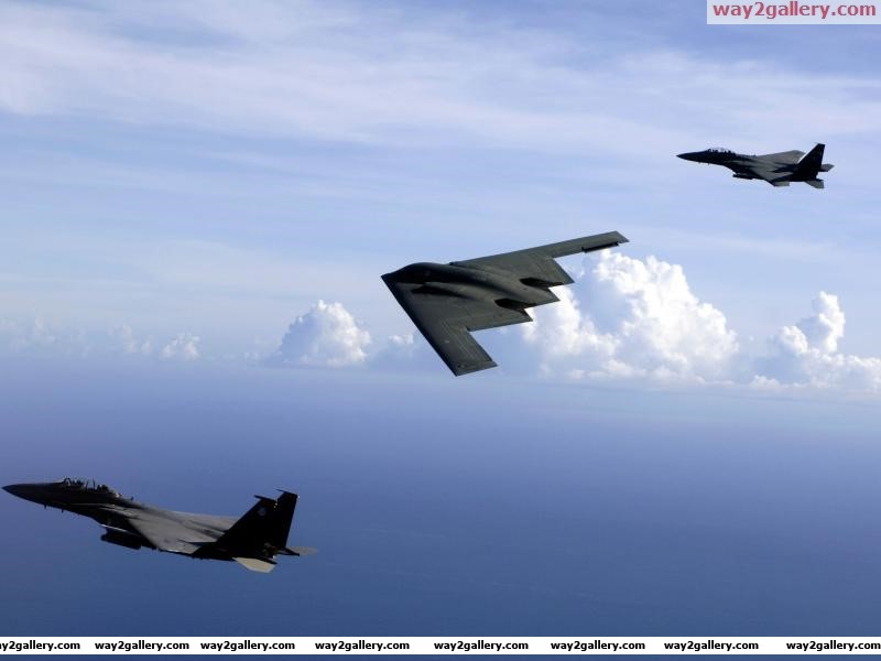 United states air forcef 15e b 2 bomberaircraft