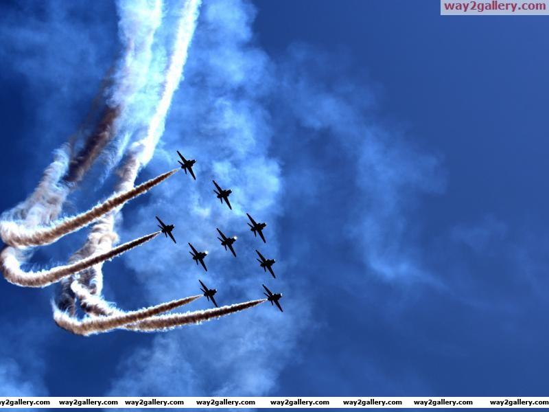 Aviation air show