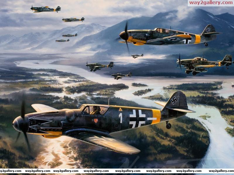 Big guns military aviation