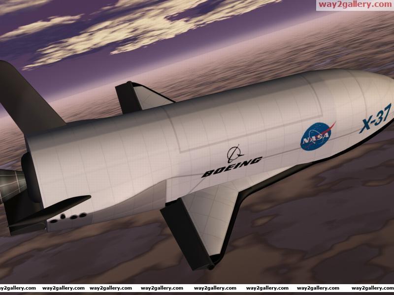 Boeing x 37b space plane