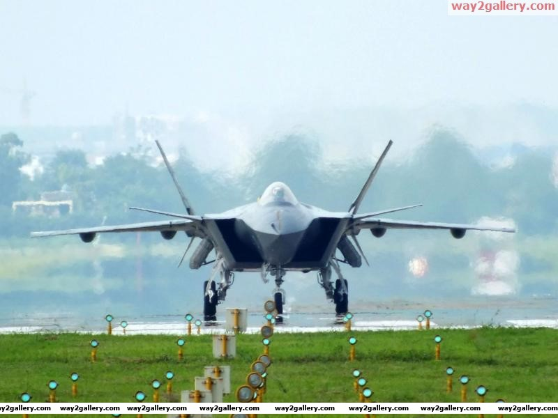 China j20 stealth fighteraircraft