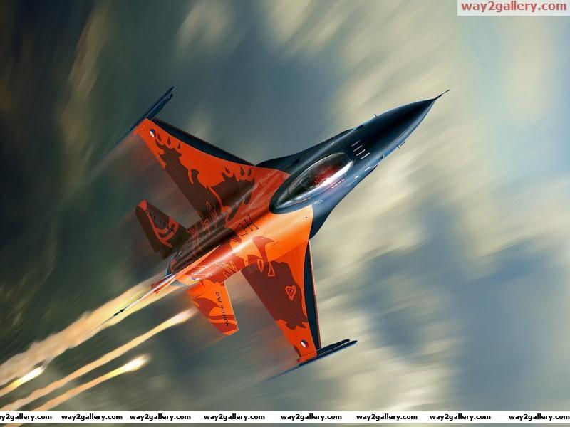 F 16 flight