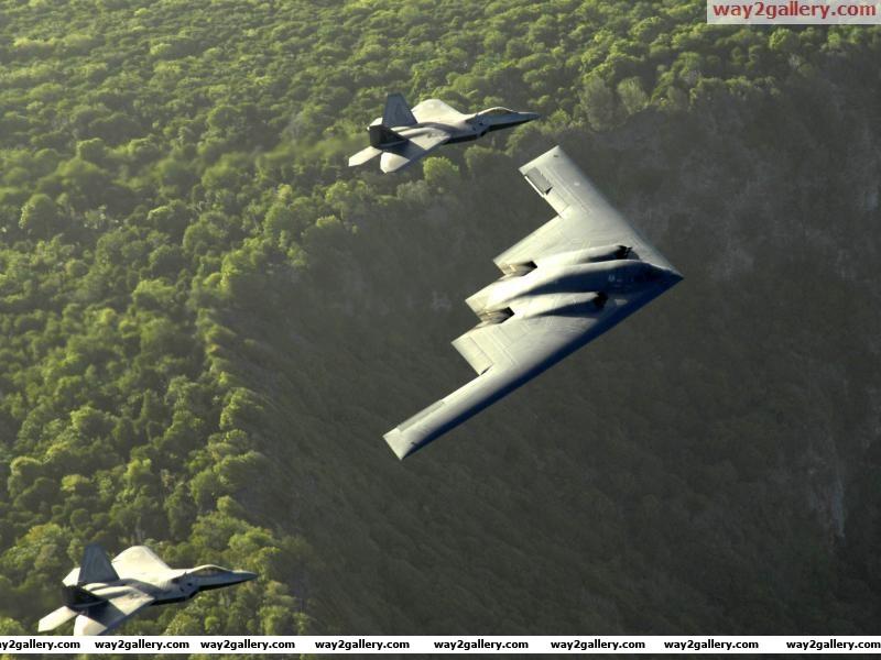 F22 b2aircraft