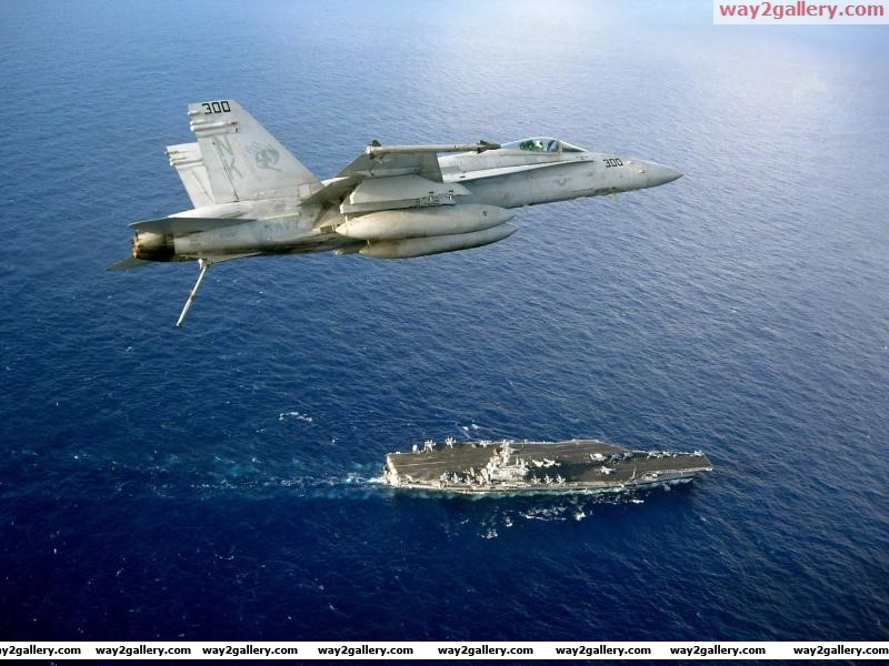 Fa 18 seaaircraft