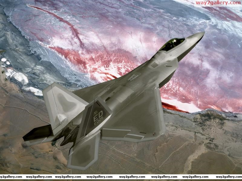 United states air force f 22a raptor stealth fighter jet california