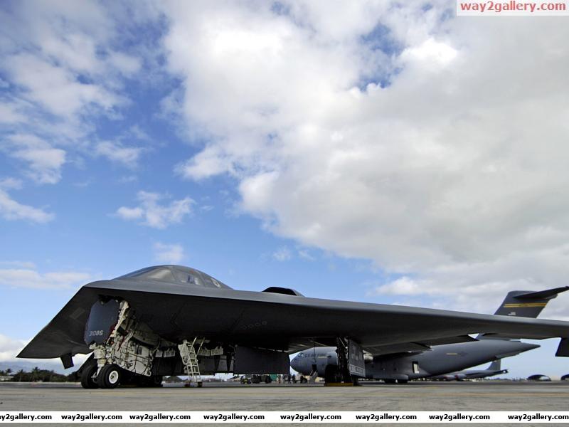 Usab 2 spirit stealth bomberaircraft