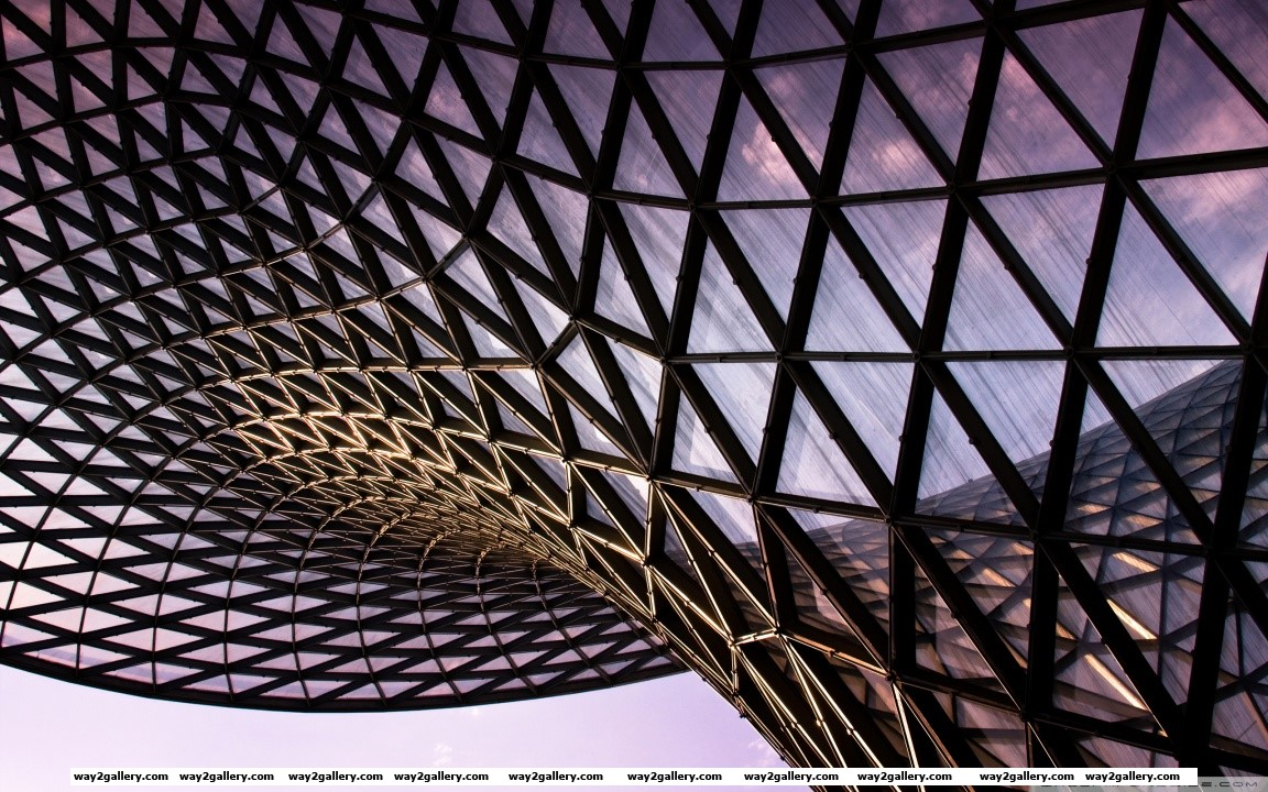 Abstract architecture hd wide wallpaper