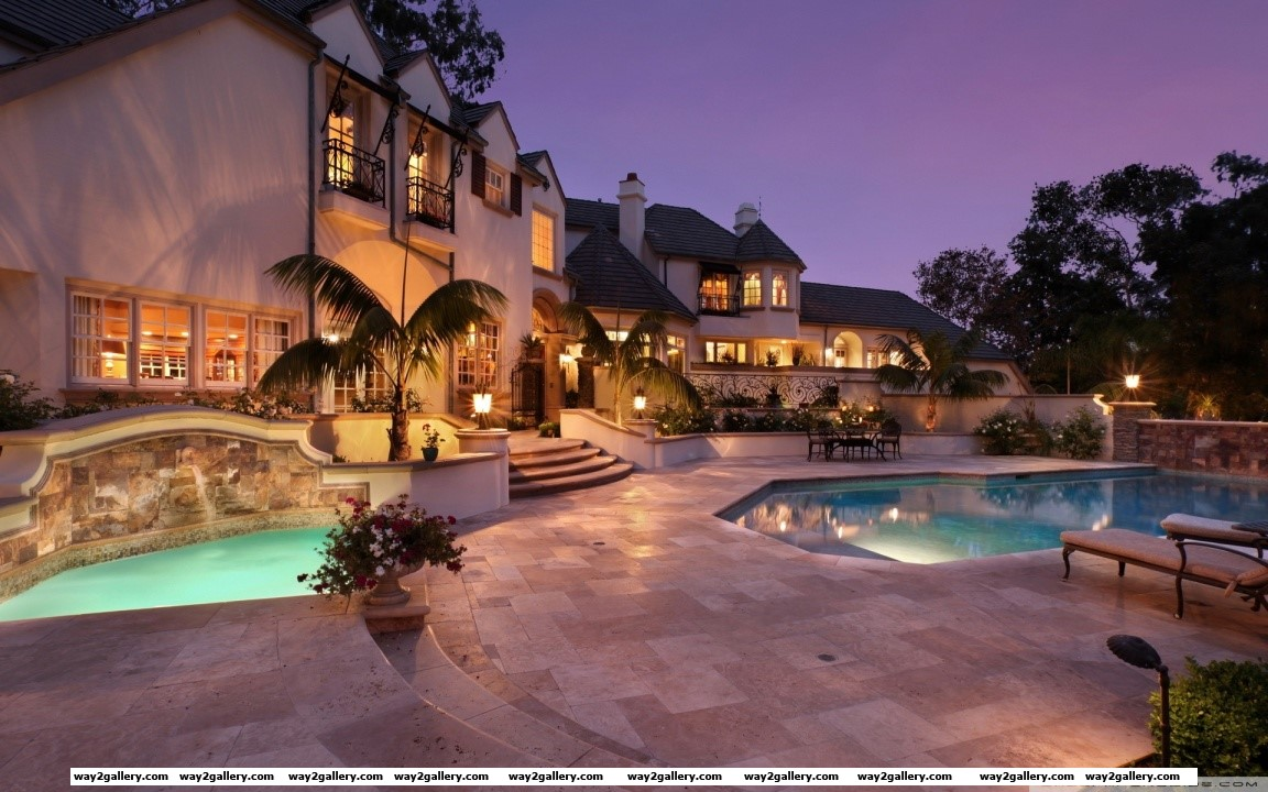 Amazing house hd wide wallpaper