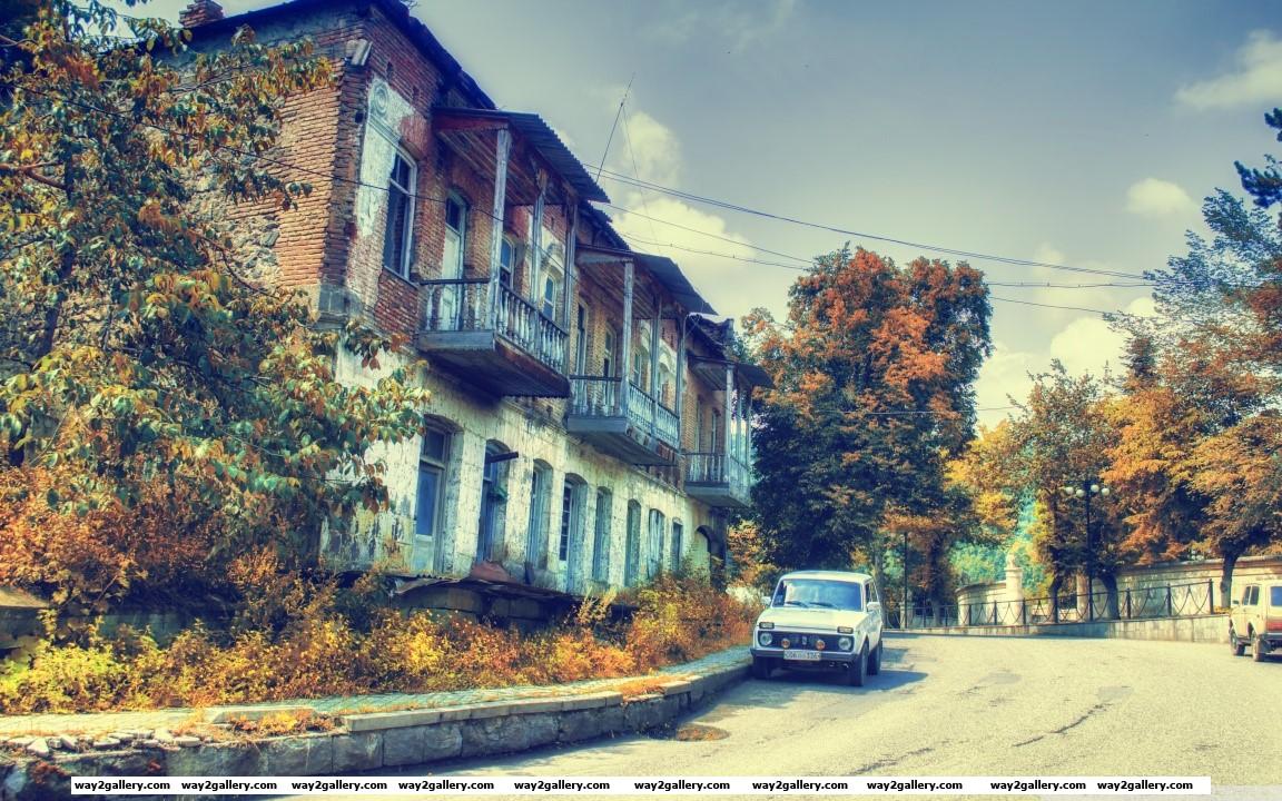 Armenia dilijan hd wide wallpaper