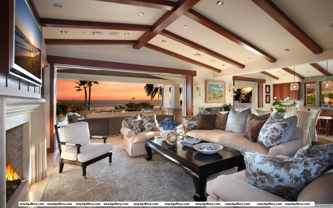 Living room design hd wide wallpaper