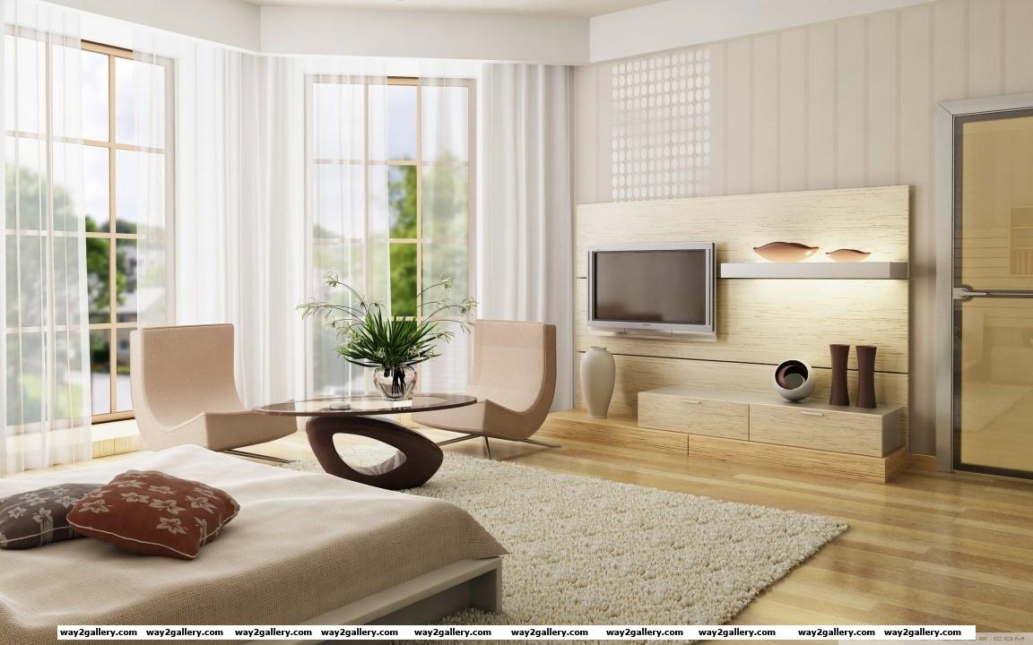 Modern room hd wide wallpaper