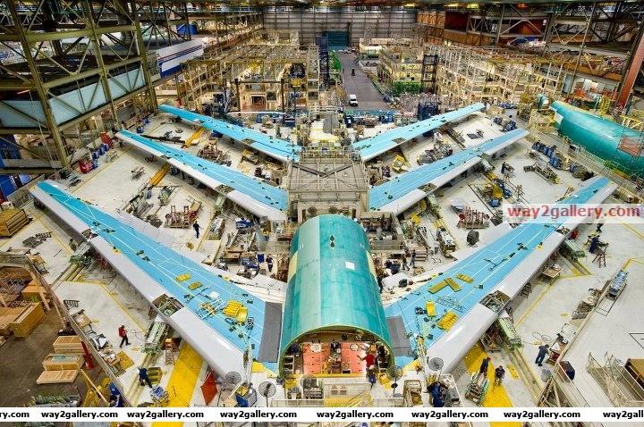 Boeing factory   washington