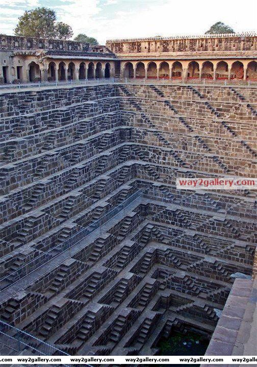 Largest step wells @ chand baori, abhaneri, rajasthan