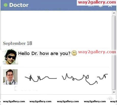 Doctors chat