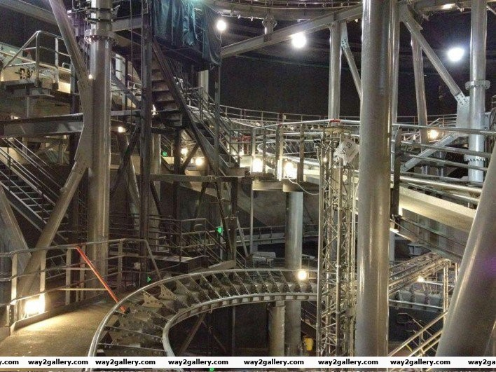 18 this is what space mountain looks like with the lights on