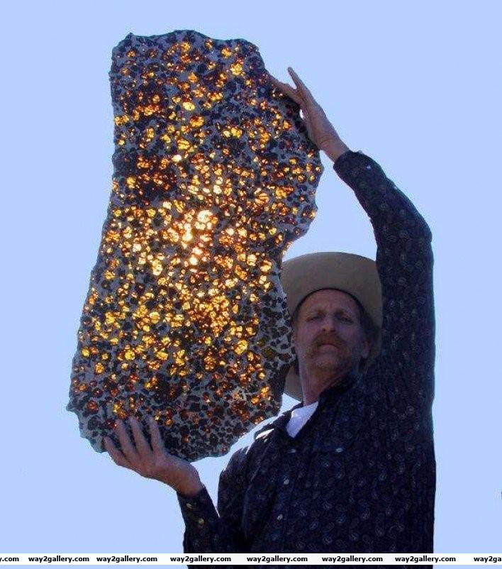 20 the fukang meteorite