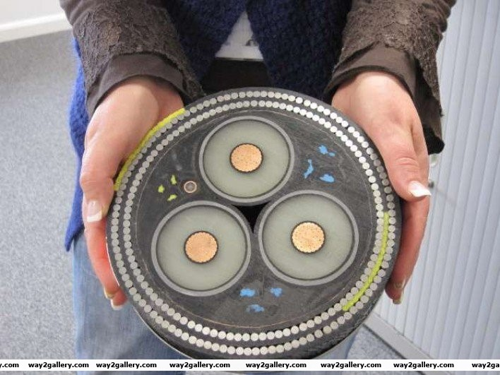 38 cross section of undersea cable
