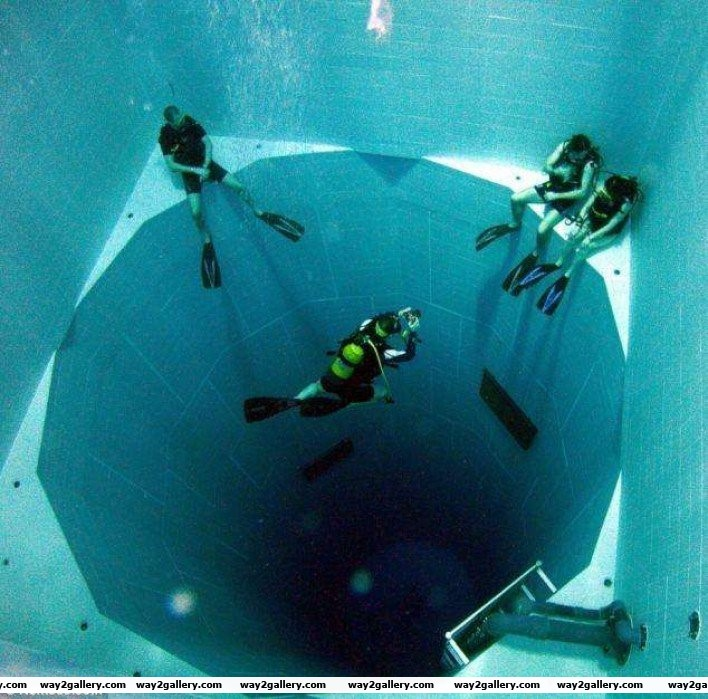 7 world s deepest swimming pool 113 ft deep and holding 600 000 gallons