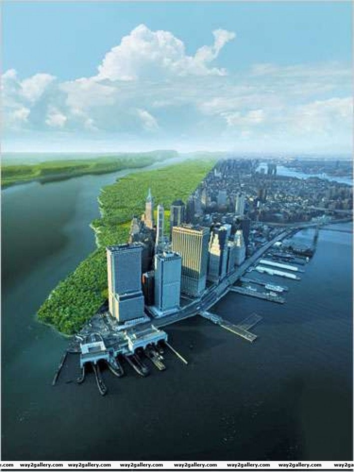 Noelement16 present day manhattan versus what it would have looked like 600 years ago