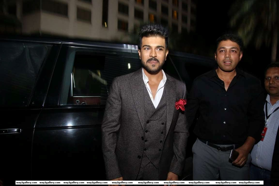 Ram charan teja was present at rd filmfare awards south