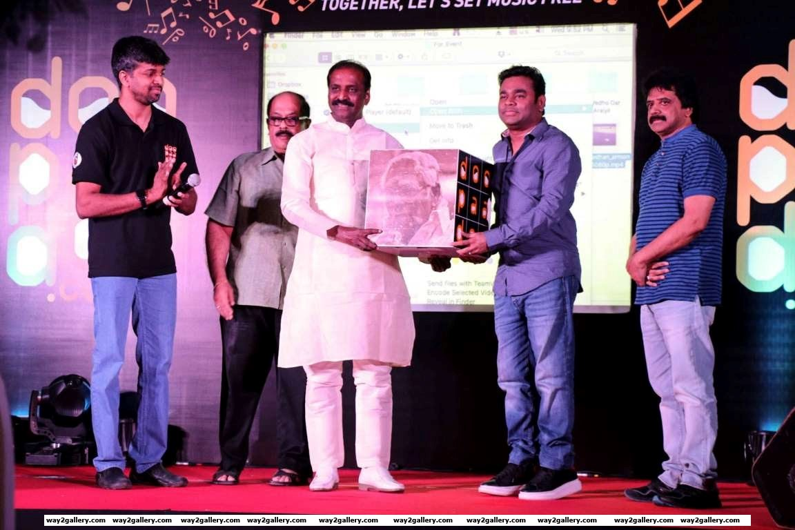 A R Rahman launched the music portal Doopaadoo