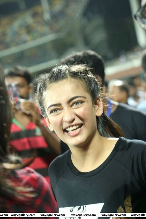 Akshara Haasan posted on Twitter Back home in chennai Im glad i could be part be part of such a grand event