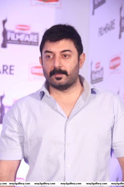 Arvind Swami descended at the Britannia Filmfare Awards South press conference