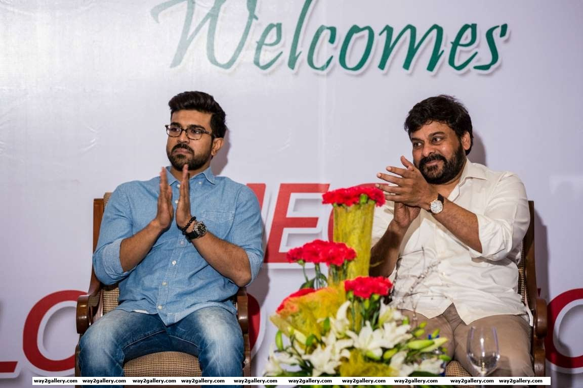 Chiranjeevi and son Ram Charan recently launched the Chiranjeevi Blood Bank donor app