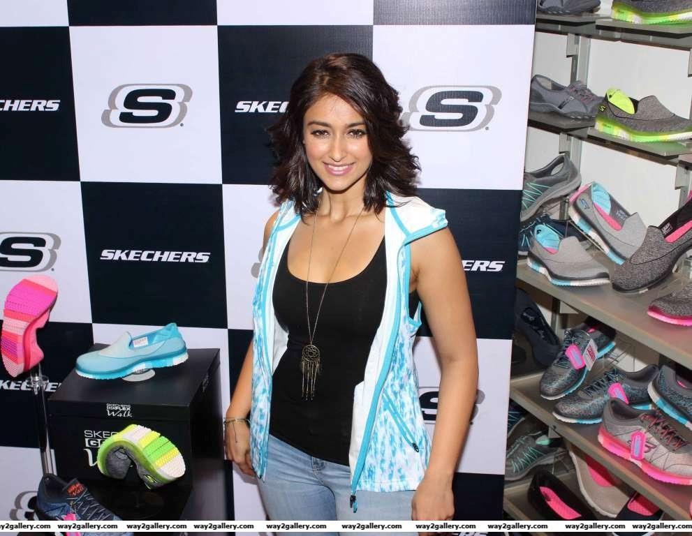 Ileana DCruz launches new range of Skechers shoes in Mumbai