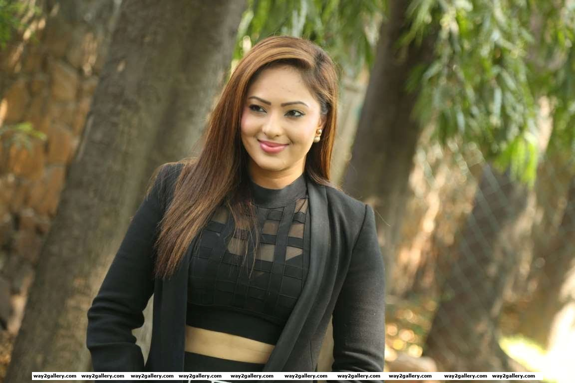 Nikesha Patel was spotted at the launch of Naatkal