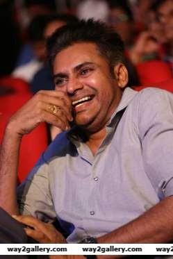 Pawan Kalyan graced the audio launch of Telugu film A Aa