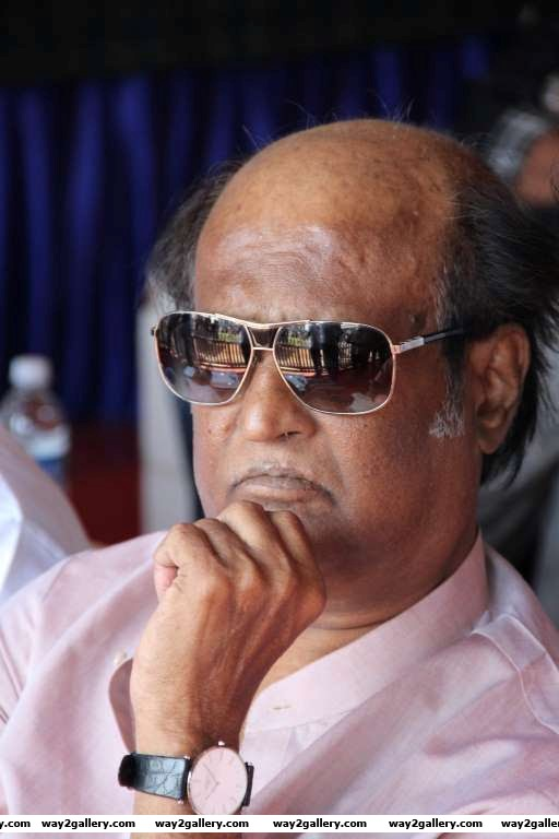 Rajinikanth takes in the proceedings